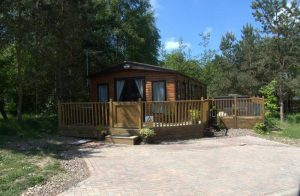 New Stag Lodge in Summer