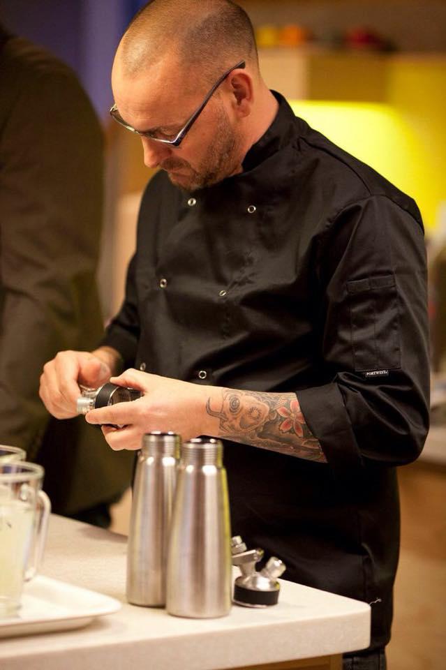 Chef Sean Wilkinson in action!