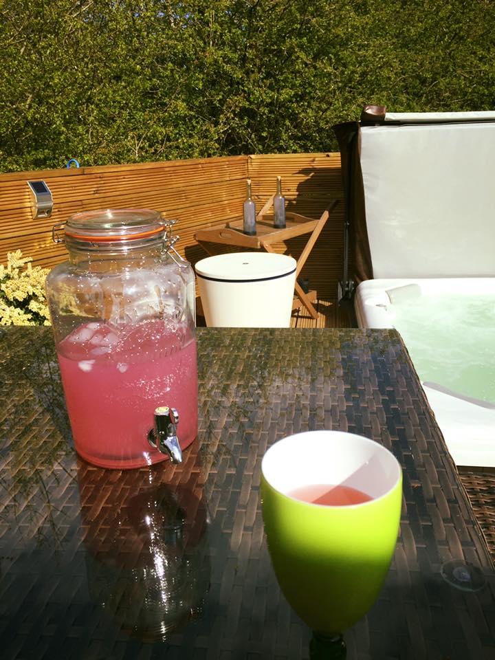 Kilner Jar at Woodys Lodge, perfect for those hot days