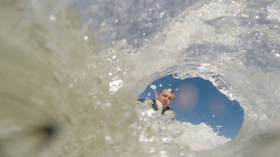 Surfing in Amble with Northside Surf School
