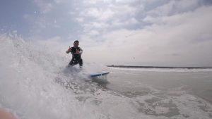 Surf at Amble